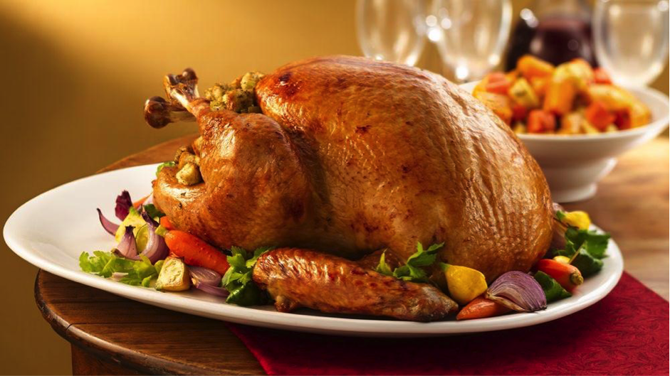 Delicious Organic Roasted Turkey